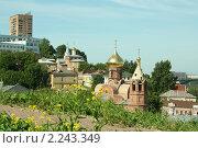Купить «Вид с Кремлевского холма», фото № 2243349, снято 28 июня 2009 г. (c) Андрей Бушуев / Фотобанк Лори