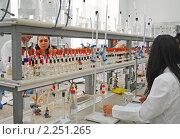 Купить «В химическом практикуме», эксклюзивное фото № 2251265, снято 15 сентября 2010 г. (c) Татьяна Юни / Фотобанк Лори