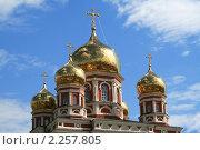 Купить «Купол церкви Покрова в Саратове», фото № 2257805, снято 30 апреля 2010 г. (c) Сергей Кузнецов / Фотобанк Лори