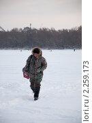 Рыбак (2011 год). Редакционное фото, фотограф Рыжов Михаил / Фотобанк Лори