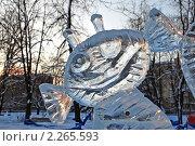 Купить «Ледяные скульптуры в Снежном городке. Парк Сокольники, Москва», эксклюзивное фото № 2265593, снято 4 января 2010 г. (c) lana1501 / Фотобанк Лори