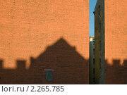 Купить «Стена-брандмауэр. Санкт-Петербург», эксклюзивное фото № 2265785, снято 5 октября 2010 г. (c) Александр Алексеев / Фотобанк Лори