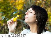 Купить «Девушка, брюнетка», фото № 2266717, снято 2 октября 2010 г. (c) Василий Вишневский / Фотобанк Лори