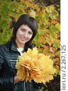 Купить «Девушка, брюнетка», фото № 2267125, снято 2 октября 2010 г. (c) Василий Вишневский / Фотобанк Лори