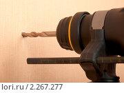 Купить «Перфоратор», фото № 2267277, снято 9 января 2011 г. (c) Руслан Григолава / Фотобанк Лори