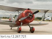Купить «Истребитель И-5 на авиасалоне МАКС-2009», фото № 2267721, снято 21 августа 2009 г. (c) Малышев Андрей / Фотобанк Лори
