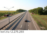 """Купить «Федеральная трасса М-4 """"Дон""""», эксклюзивное фото № 2275293, снято 19 июля 2010 г. (c) Дмитрий Неумоин / Фотобанк Лори"""