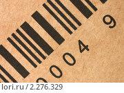 Купить «Штрихкод», фото № 2276329, снято 9 января 2011 г. (c) Воронин Владимир Сергеевич / Фотобанк Лори