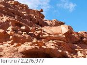 Купить «Цветной каньон. Синай. Египет», фото № 2276977, снято 8 января 2011 г. (c) Екатерина Овсянникова / Фотобанк Лори