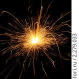 Купить «Бенгальский огонь», фото № 2279033, снято 12 января 2011 г. (c) Федор Кондратенко / Фотобанк Лори