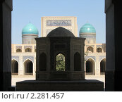 Памятник Архитектуры Мечеть Медресе Мири-Араб Бухара (2010 год). Стоковое фото, фотограф Ибрагимов Артем Дмитриевич / Фотобанк Лори