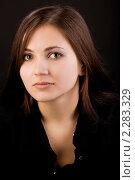Портрет девушки. Стоковое фото, фотограф Гурьянов Андрей / Фотобанк Лори