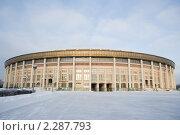 Купить «Москва. Стадион Лужники», фото № 2287793, снято 5 января 2011 г. (c) Михаил Ворожцов / Фотобанк Лори