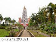 Купить «Уникальный и самый крупный в стране храмовый комплекс Ват Йанасангварарам, Паттайя, Таиланд», фото № 2293321, снято 16 декабря 2010 г. (c) Николай Винокуров / Фотобанк Лори