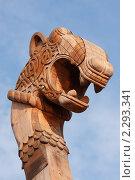 Купить «Нос драккара.г.Выборг.», эксклюзивное фото № 2293341, снято 8 октября 2010 г. (c) Роман Рожков / Фотобанк Лори