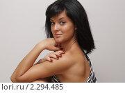 Портрет девушки. Стоковое фото, фотограф Kononova Elena / Фотобанк Лори