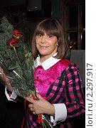 Купить «Наталья Варлей, киноактриса», фото № 2297917, снято 20 февраля 2007 г. (c) Малышев Андрей / Фотобанк Лори