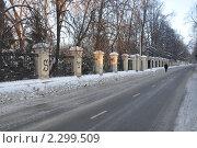 Купить «Москва. Пехотная улица зимой», эксклюзивное фото № 2299509, снято 16 января 2011 г. (c) Дмитрий Абушкин / Фотобанк Лори