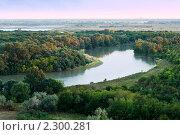 Купить «Утро на реке Кубань», фото № 2300281, снято 18 сентября 2007 г. (c) Сахно Роман Викторович / Фотобанк Лори
