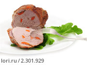 Купить «Мясо запечённое», эксклюзивное фото № 2301929, снято 25 января 2011 г. (c) Юрий Морозов / Фотобанк Лори