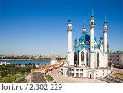 Купить «Кул Шариф. Казанский кремль», фото № 2302229, снято 2 июля 2010 г. (c) Наталья Волкова / Фотобанк Лори