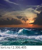 Купить «Море на закате», фото № 2306405, снято 18 декабря 2010 г. (c) Яков Филимонов / Фотобанк Лори