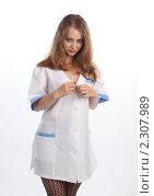 Купить «Медсестра», фото № 2307989, снято 21 мая 2010 г. (c) Евгений Батраков / Фотобанк Лори