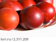 Пасхальные яйца. Стоковое фото, фотограф Дмитрий Малахов / Фотобанк Лори