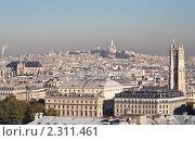 Купить «Вид на Париж. Франция», фото № 2311461, снято 21 октября 2010 г. (c) Николай Коржов / Фотобанк Лори