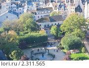 Купить «Вид с собора Нотр дам де Пари (Notre dame de Paris). Франция.», фото № 2311565, снято 21 октября 2010 г. (c) Николай Коржов / Фотобанк Лори