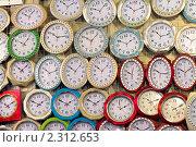 Купить «Настенные часы», фото № 2312653, снято 20 января 2011 г. (c) Юрий Плющев / Фотобанк Лори