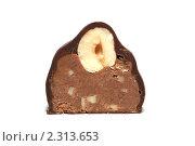 Купить «Шоколадная конфета», фото № 2313653, снято 7 ноября 2010 г. (c) Рычкова  Валентина / Фотобанк Лори