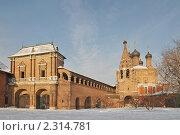 Купить «Крутицкое подворье. Город Москва», эксклюзивное фото № 2314781, снято 18 января 2011 г. (c) stargal / Фотобанк Лори