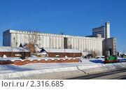 Купить «Элеватор зимой», фото № 2316685, снято 31 января 2011 г. (c) Голованов Сергей / Фотобанк Лори