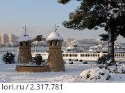 Купить «Зимний пейзаж курорта Геленджик», фото № 2317781, снято 3 февраля 2011 г. (c) Игорь Архипов / Фотобанк Лори