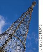 Купить «Шуховская (Шаболовская) башня», фото № 2318013, снято 31 января 2011 г. (c) Владимир Киликовский / Фотобанк Лори