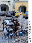 Уличный музыкант (2009 год). Редакционное фото, фотограф Хорьков Игорь / Фотобанк Лори