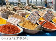 Купить «Восточные специи», фото № 2319645, снято 21 июля 2019 г. (c) Руслан Керимов / Фотобанк Лори