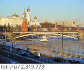Купить «Москва. Вид на Кремль и храмы кремля», эксклюзивное фото № 2319773, снято 31 января 2011 г. (c) lana1501 / Фотобанк Лори