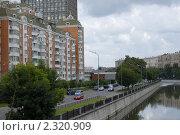 Купить «Набережная реки Яузы в Москве», фото № 2320909, снято 26 июля 2009 г. (c) Яременко Екатерина / Фотобанк Лори