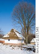 Купить «Аккуратный деревенский домик зимой», фото № 2321541, снято 30 января 2011 г. (c) Николай Голицынский / Фотобанк Лори