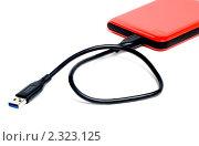 Купить «Красный внешний диск», эксклюзивное фото № 2323125, снято 5 февраля 2011 г. (c) Александр Щепин / Фотобанк Лори