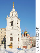 Купить «Храм великомученика Георгия Победоносца на Псковской горке. Москва», эксклюзивное фото № 2323541, снято 31 января 2011 г. (c) stargal / Фотобанк Лори