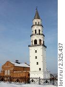 Купить «Невьянская наклонная башня», фото № 2325437, снято 6 февраля 2011 г. (c) Петрова Надежда / Фотобанк Лори