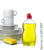 Купить «Жидкость для мытья посуды», фото № 2331597, снято 6 февраля 2011 г. (c) Антон Стариков / Фотобанк Лори