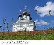 Церковь, Селигер. Стоковое фото, фотограф Маркова Елена / Фотобанк Лори
