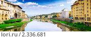 Купить «Набережная реки Арно, Флоренция. Италия», фото № 2336681, снято 23 августа 2010 г. (c) Vitas / Фотобанк Лори
