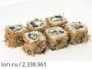 Купить «Японское суши», фото № 2338961, снято 1 февраля 2011 г. (c) Никита Жигелев / Фотобанк Лори