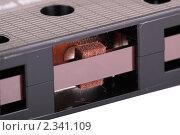 Купить «Магнитофонная кассета», фото № 2341109, снято 6 февраля 2011 г. (c) Игорь Долгов / Фотобанк Лори