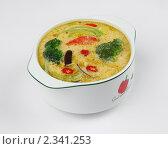 Суп с капустой брокколи и перцем (2010 год). Редакционное фото, фотограф Константин Буркин / Фотобанк Лори